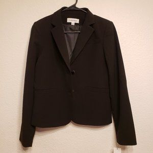 Calvin Klein black formal Blazer size 4